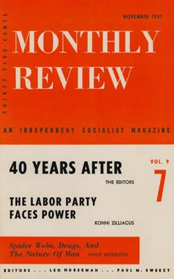 View Vol. 9, No. 7: November 1957