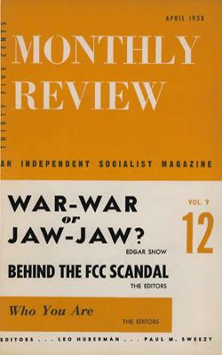 View Vol. 9, No. 12: April 1958