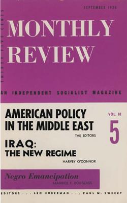 View Vol. 10, No. 5: September 1958