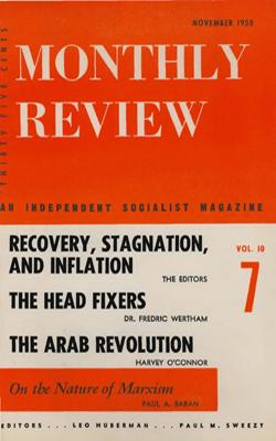 View Vol. 10, No. 7: November 1958