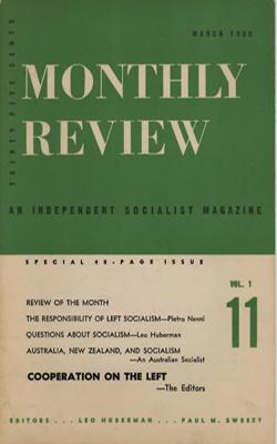 View Vol. 1, No. 11: March 1950