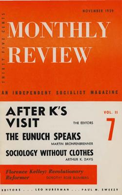 View Vol. 11, No. 7: November 1959