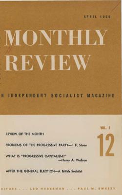 View Vol. 1, No. 12: April 1950