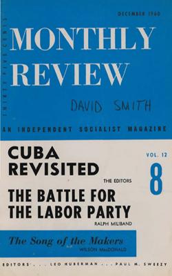 View Vol. 12, No. 8: December 1960