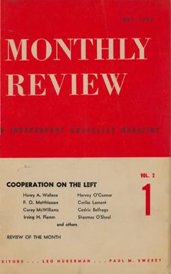 View Vol. 2, No. 1: May 1950