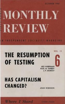 View Vol. 13, No. 6: October 1961