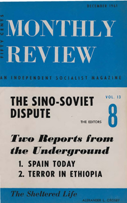 View Vol. 13, No. 8: December 1961