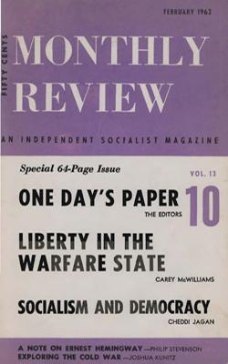 View Vol. 13, No. 10: February 1962