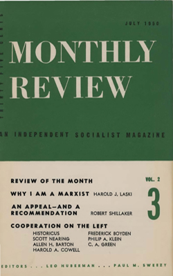 View Vol. 2, No. 3: July 1950