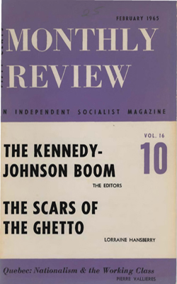 View Vol. 16, No. 10: February 1965