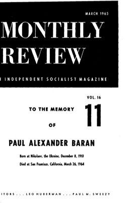 View Vol. 16, No. 11: March 1965