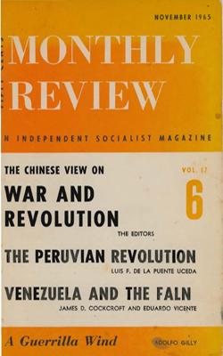View Vol. 17, No. 6: November 1965