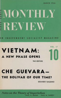 Che Guevara: The Bolivar of Our Time? | Monthly Review Archives
