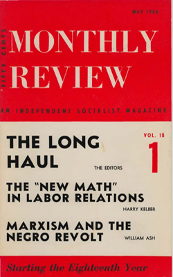 View Vol. 18, No. 1: May 1966