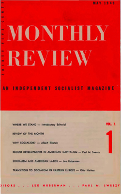 View Vol. 1, No. 1: May 1949