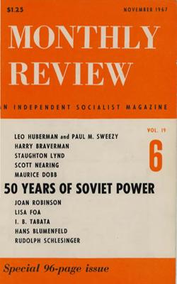View Vol. 19, No. 6: November 1967