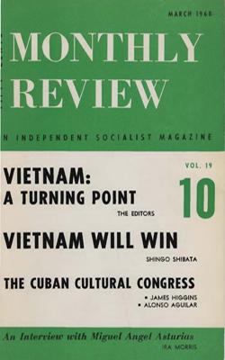 View Vol. 19, No. 10: March 1968