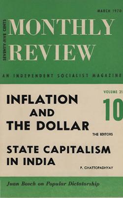 View Vol. 21, No. 10: March 1970