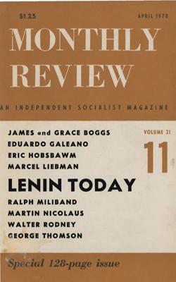View Vol. 21, No. 11: April 1970