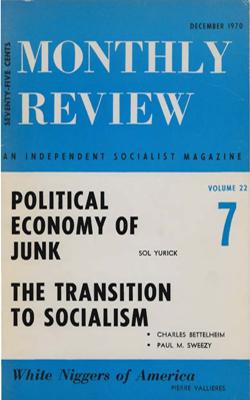 View Vol. 22, No. 7: December 1970