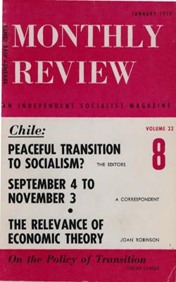 View Vol. 22, No. 8: January 1971