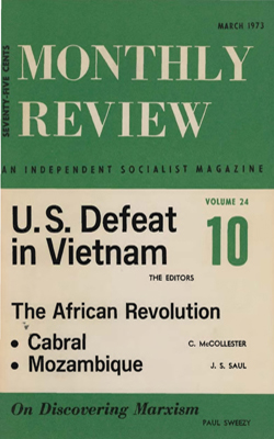 View Vol. 24, No. 10: March 1973