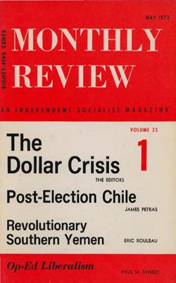 View Vol. 25, No. 1: May 1973