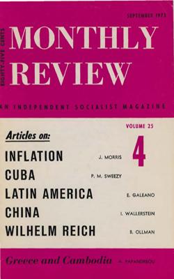 View Vol. 25, No. 4: September 1973