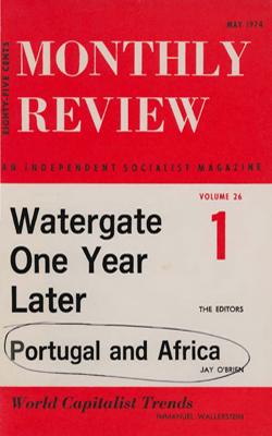 View Vol. 26, No. 1: May 1974