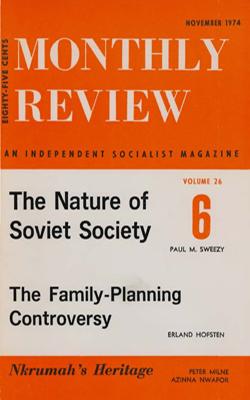 View Vol. 26, No. 6: November 1974