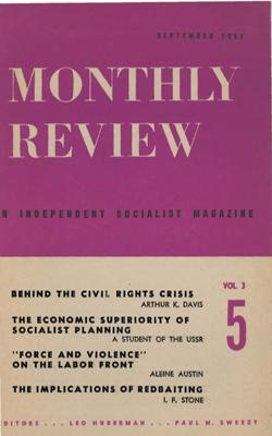 View Vol. 3, No. 5: September 1951