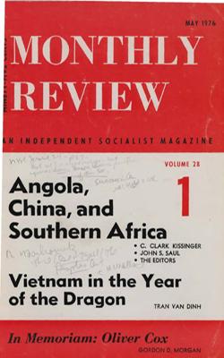 View Vol. 28, No. 1: May 1976