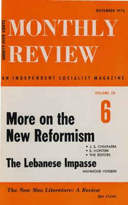 View Vol. 28, No. 6: November 1976