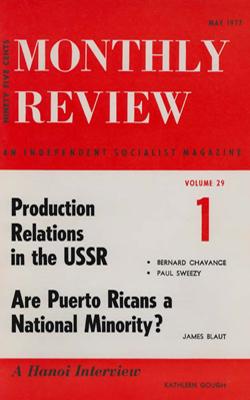 View Vol. 29, No. 1: May 1977