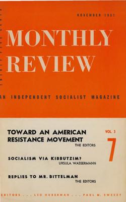 View Vol. 3, No. 7: November 1951