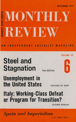 View Vol. 29, No. 6: November 1977