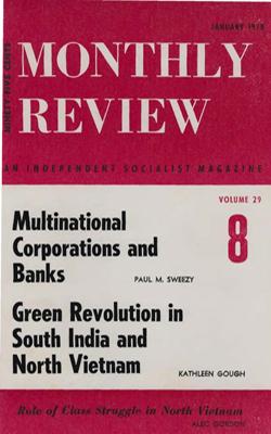 View Vol. 29, No. 8: January 1978