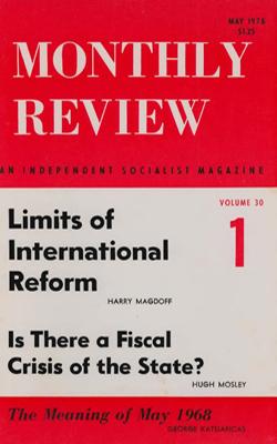 View Vol. 30, No. 1: May 1978