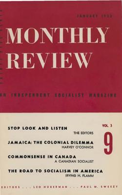 View Vol. 3, No. 9: January 1952