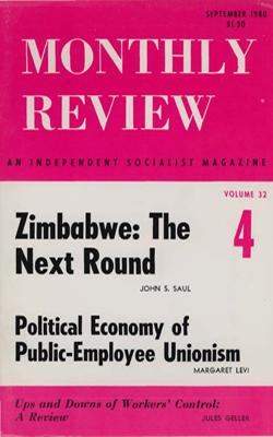 View Vol. 32, No. 4: September 1980