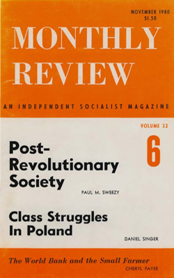 View Vol. 32, No. 6: November 1980