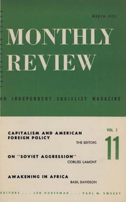 View Vol. 3, No. 11: March 1952