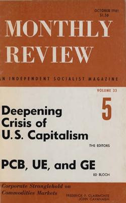 View Vol. 33, No. 5: October 1981