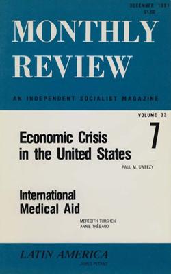 View Vol. 33, No. 7: December 1981
