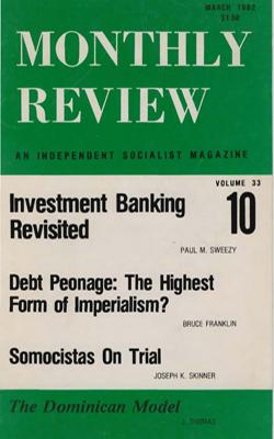 View Vol. 33, No. 10: March 1982