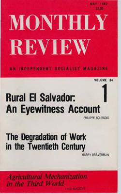 View Vol. 34, No. 1: May 1982