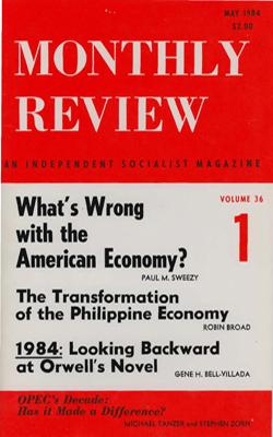 View Vol. 36, No. 1: May 1984
