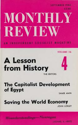 View Vol. 36, No. 4: September 1984