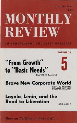 View Vol. 36, No. 5: October 1984