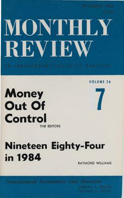 View Vol. 36, No. 7: December 1984